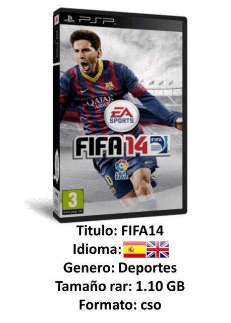 Game PC Rip - Fifa 14 PSP [EUR] [Español/Inglés] [Juego de Fútbol]