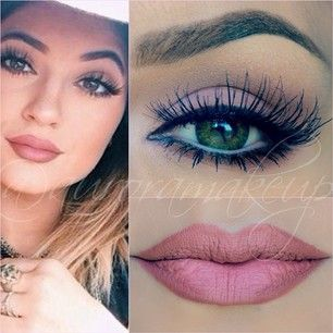 Kylie Jenner always has the perfect hair, makeup and outfits. LOVE this makeup!