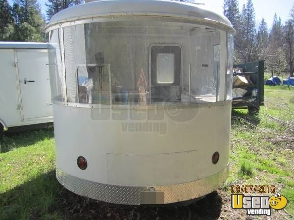 Vintage Roll O End X Concession Trailer For Sale In California