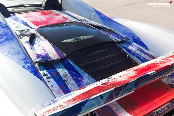 McLaren Newport Beach's Flag-Wrapped 650S Spider