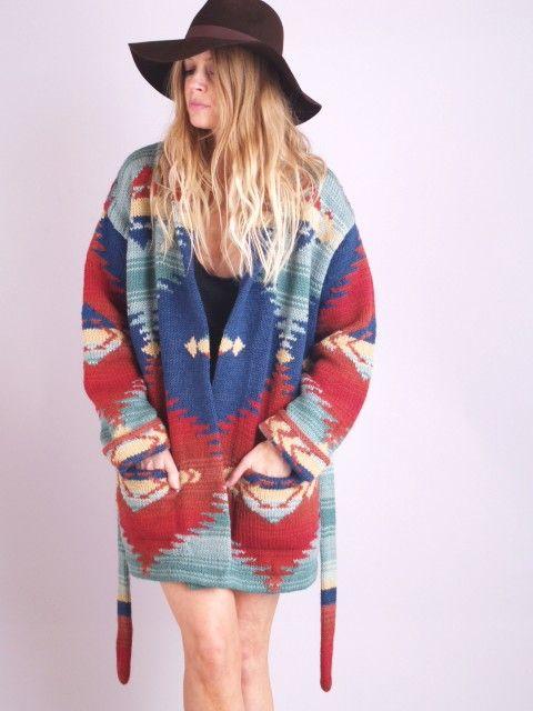 Ralph Lauren Southwest sweater for Women   about Vtg RALPH ...