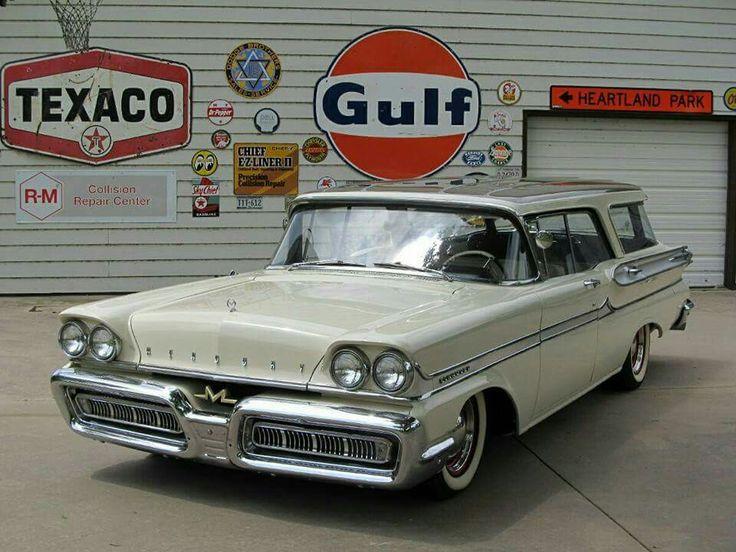 1958 Mercury Conmunter Station Wagon
