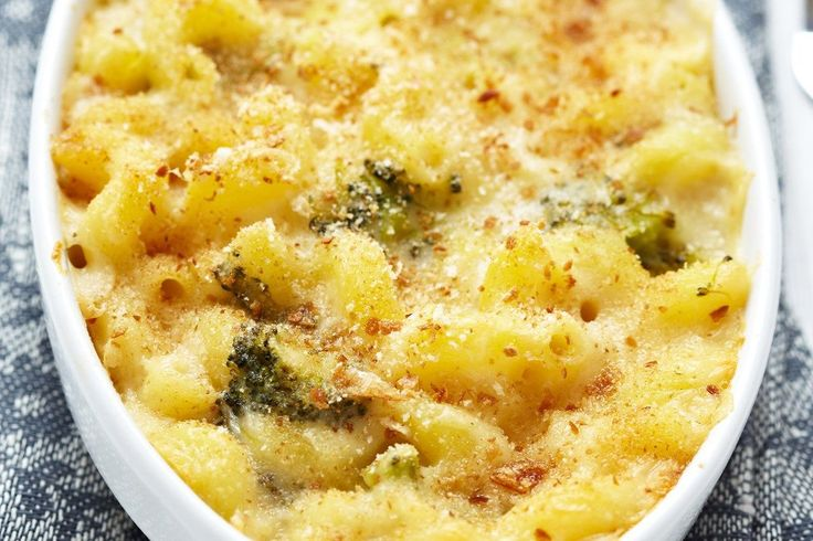 Macaroni and Cheese Casserole with Broccoli (Weight Watchers ...