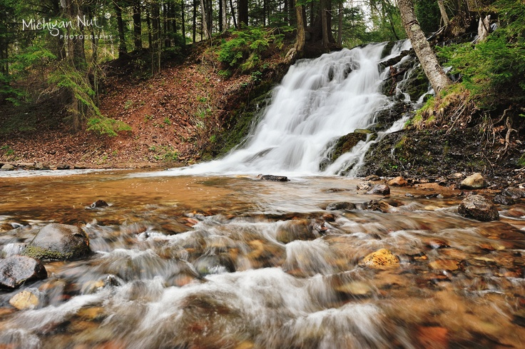 17 best images about waterfalls of marquette county on for Morgan falls