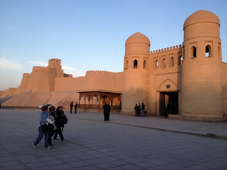"""Khiva is one of the few cities in the world, where the historical building up has actually been preserved; as a matter of fact it is a whole city in the open air. At various times travelers gave the description of the city. The medieval geographer Al-Makdisi wrote: """"Khiva is a vast city on the edge of desert; it is on the canal that comes from the river; there is a wonderful congregational mosque in the city""""."""
