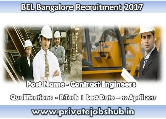 Bharat Electronics Limited has asserted job advertisement in favor of BEL Bangalore Recruitment. Organization has released this notification to hire energetic and dedicated candidates for filling up 09 vacant positions of Contract Engineers.