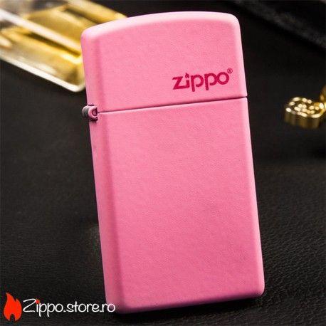 Zippo Pink Matte Slim este o bricheta zippo ce emana feminitate si senzualitate, cu acest finisaj roz pal si logo-ul elegant Zippo. Ofera-i cadou un Zippo slim si sigur isi va aduce aminte o viata intreaga de tine.