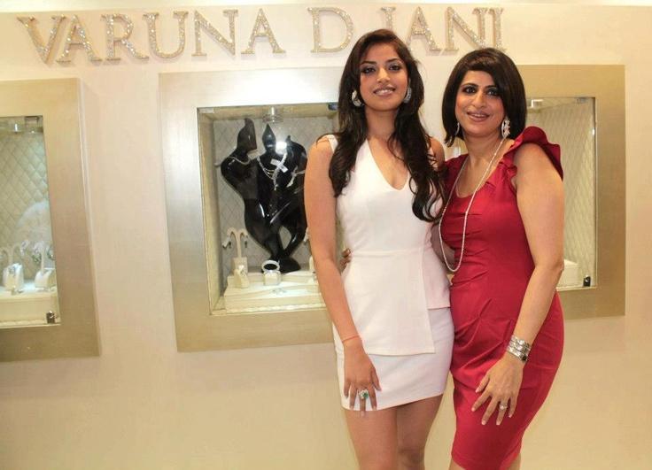 Varuna and Anushka Ranjan at the Launch of Loop Collection