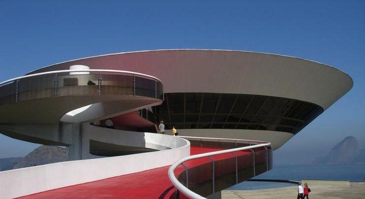 Niteroi museum of contemporary art, Brazil, 1996 · Oscar Niemeyer ...