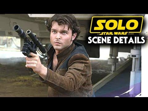 Spread the love - Compartir en Redes Sociales Solo A Star Wars Story Scene Details Explained! (Star Wars News) Lets go over some star wars news when it comes to solo a star wars story / the han solo movie directed by Ron Howard! now