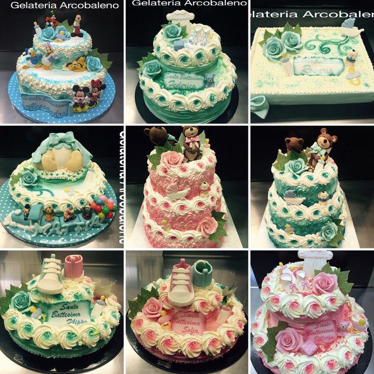 Torte gelato per battesimo