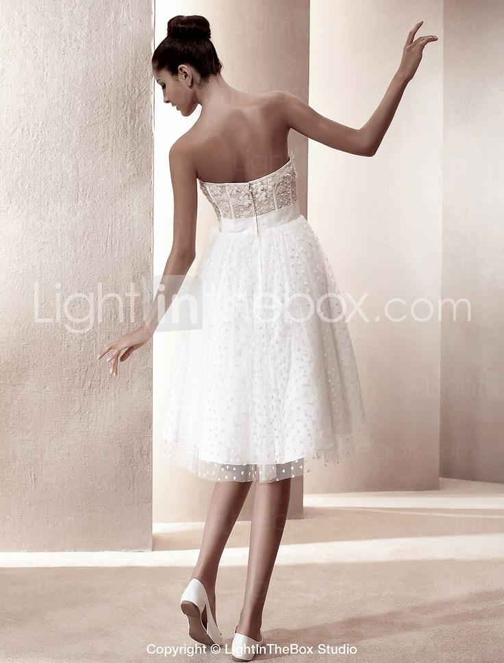 FRANCIE - Kleid für die Braut aus Satin - EUR € 117.59