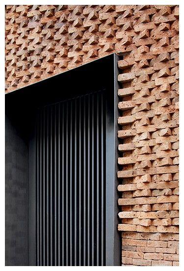 2015 :: EDIFICIO e.RC : mapa Brick detailing round door
