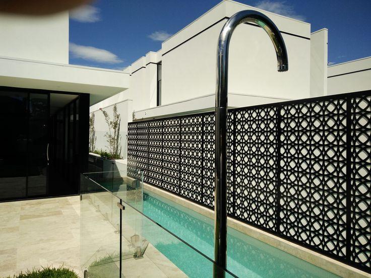 Laser Cut Screens made by QAQ Decorative Screens & Panels, Melbourne, Australia