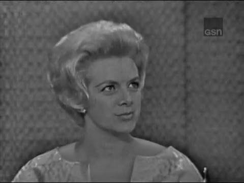 What's My Line? - Rosemary Clooney; Martin Gabel [panel] (Jun 10, 1962) - YouTube