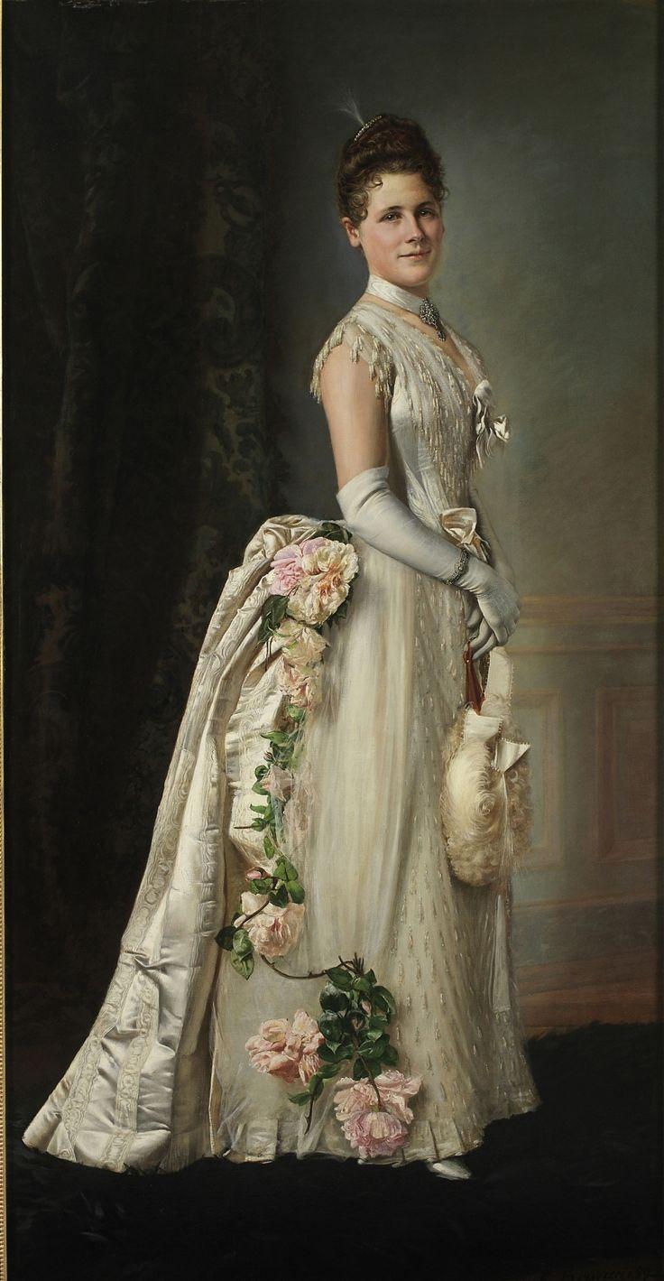 Portrait of an Elegant Lady (Francois Brunery - )