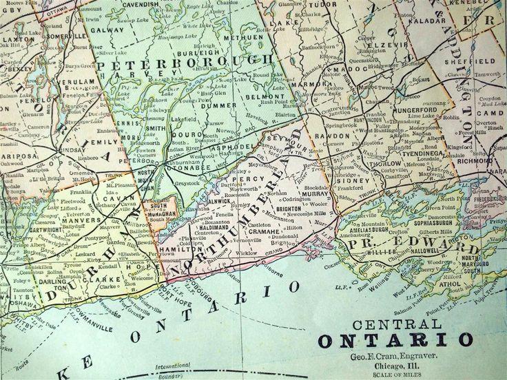 Melhores Ideias De Ontario Map No Pinterest Primeiras Nações - Map ontario canada