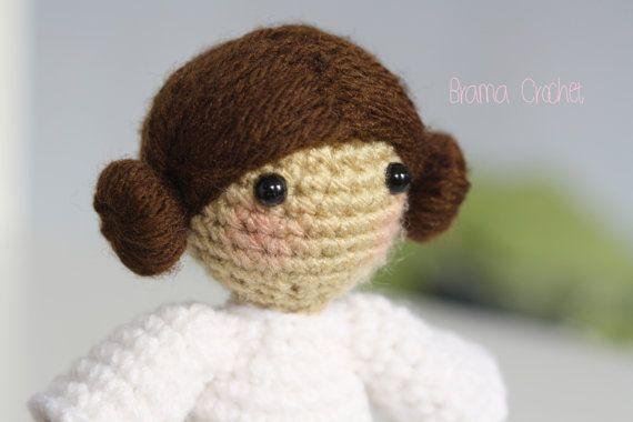 Princess Leia - Star Wars Amigurumi doll on Etsy by Brama Crochet $22.00