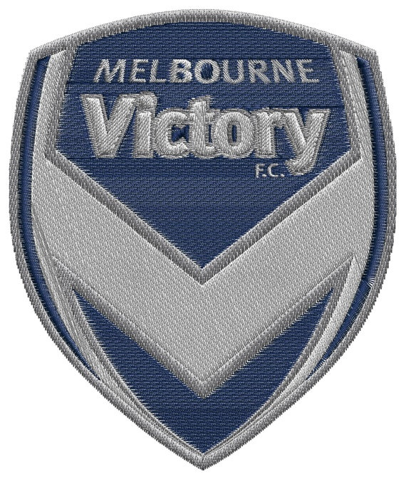 Melbourne Victory FC  machine embroidery design by BiaForceDesigns, $3.85