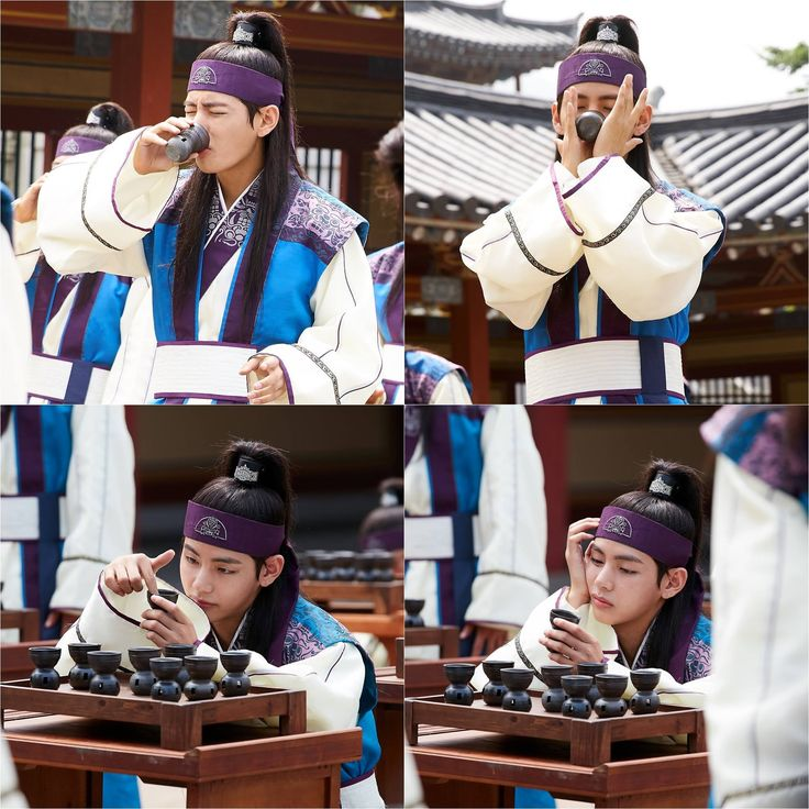 Kim Taehung (BTS V) at Hwarang [170102]