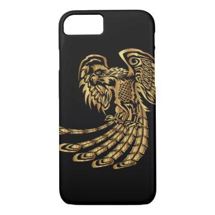 Golden Phoenix Rising iPhone 8/7 Case - diy cyo customize create your own personalize