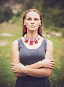 phot. Alicja Sapko http://polandhandmade.pl #polandhandmade, #tipika, #beadwork