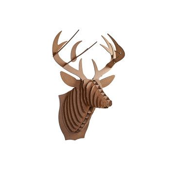 For modern interior | Cardboard Safari Jr. Deer Brown now featured on Fab.
