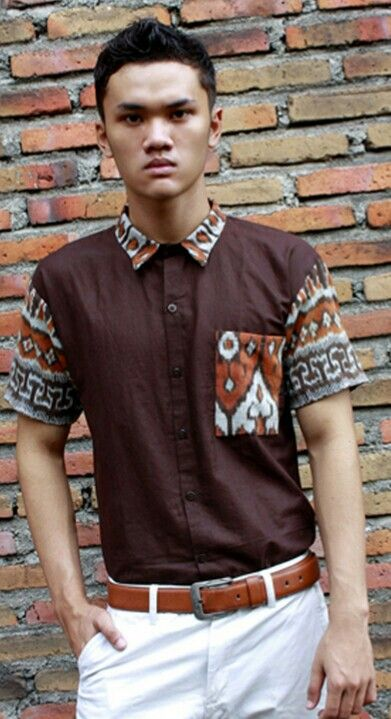 Mavazi outfit - men resort wear, pattern from Sumbawa island