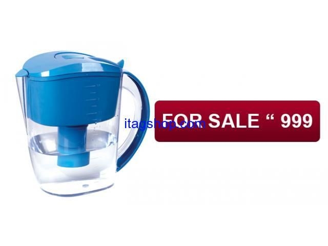 3 STAGE MICRO FILTER PURIFIER JUG YOUR MOVING COMPANION FOR CLEAN DRINKING WATER ANYWHERE-ANYTIME.  Toyoko filter jug is your companion when you are  Travelling / Pinic / Farm House / Short stay  Where clean water is hard to find.