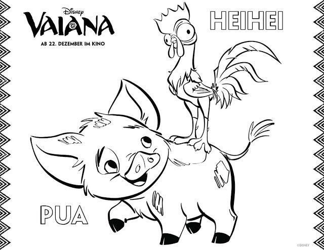 Vaiana Ausmalbilder Vaiana Zum Ausmalen Malvorlage Prinzessin Vaiana Ausmalbilder Malbuch Vorlagen