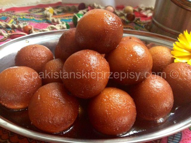 Gulab Jamun - pakistanskie mini-paczki z mleka w proszku