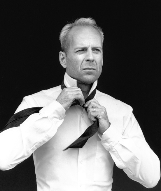 """Out my face, fool I'm the illest, Bulletproof, I die harder than Bruce Willis"" - Ice T - New Jack Hustler"