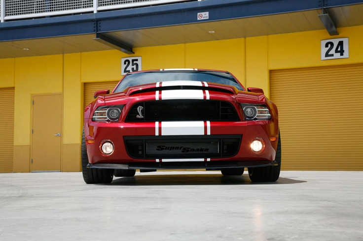Shelby анонсировала 2013 GT500 Super Snake