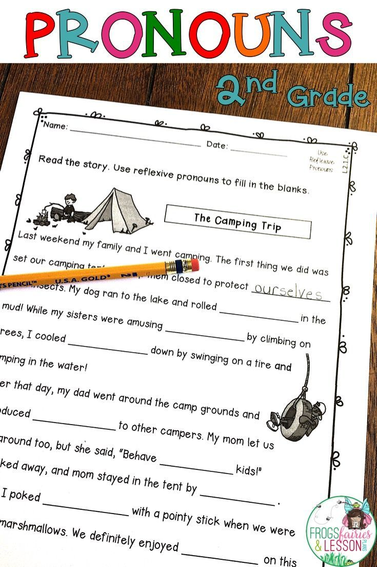 Workbooks reflexive pronoun worksheets for 2nd grade : Best 25+ Pronoun activities ideas on Pinterest | Pronoun sentences ...