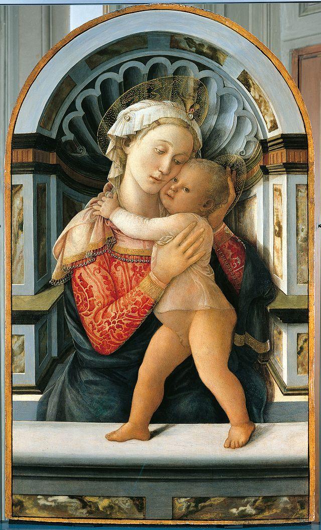 Madonna col bambino, palazzo medici riccardi, filippo lippi - Filippo Lippi - Wikipedia, the free encyclopedia