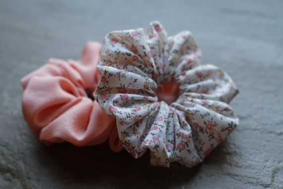 Pretty Pink Srunchies by Rusticmintx on Etsy