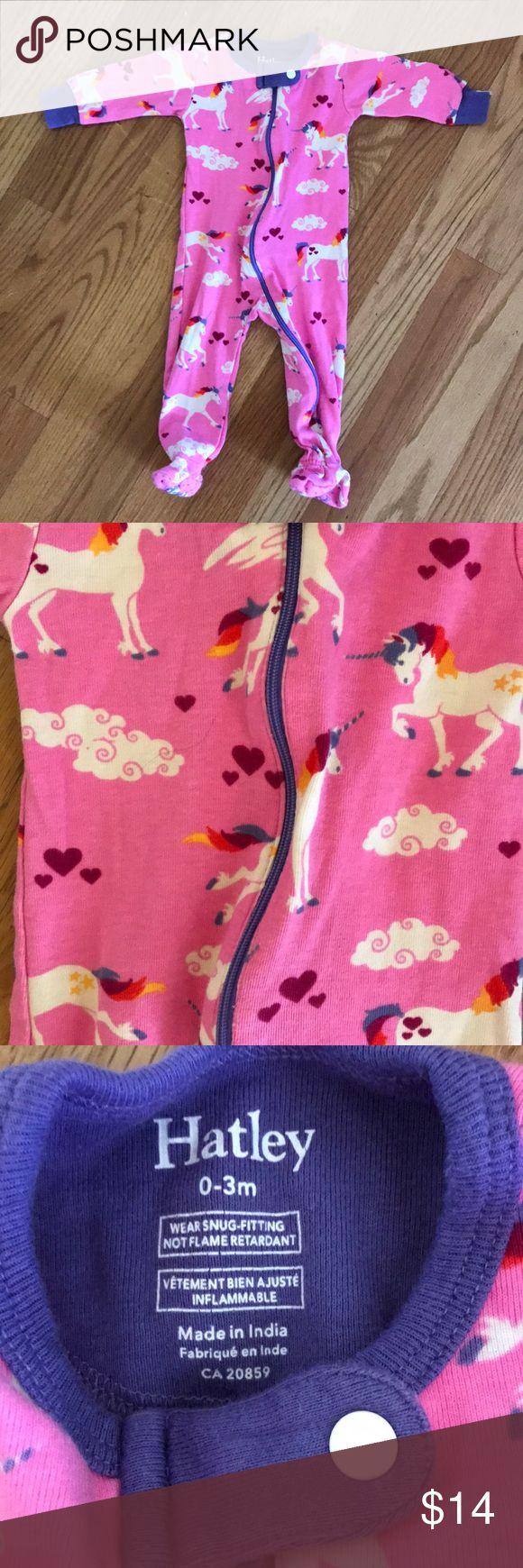 Hatley Unicorn Sleeper EUC. No stains or defects, smoke free home. Hatley Pajamas