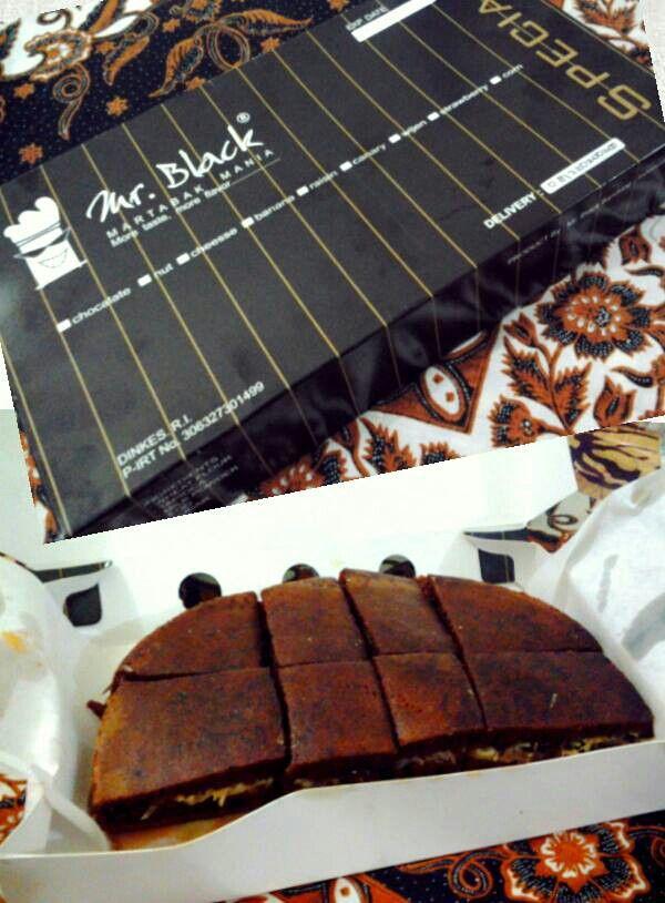 Martabak Choco Cappucino, Mr.Black, Buah Batu, Bandung
