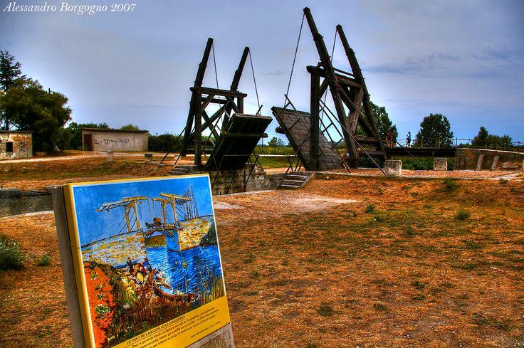 Langlois Bridge at Arles (today Van Gogh Bridge) / by Alessandro Borgogno