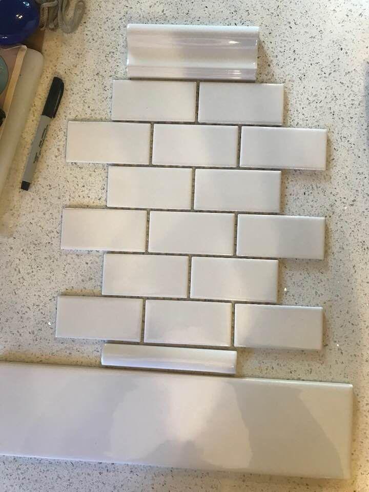 Tile Backsplash Mosaic Wall Tiles Wall Trim Ceramic Wall Tiles