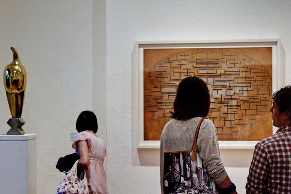 Mondrian + Brancusi