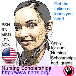 Nursing is in demand!! America needs nurses!   Scholarships and financial-aid are available. Online courses available too. Both men and women welcome. http://www.naas.org/scholarships/financial-aid/nursing-careers/