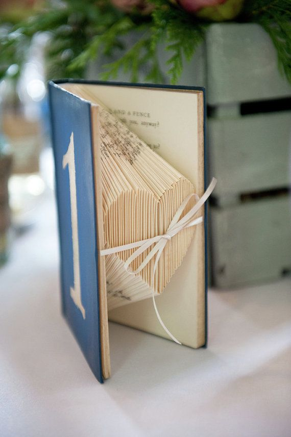 Hey, I found this really awesome Etsy listing at https://www.etsy.com/listing/155625336/blue-vintage-book-table-numbers-folded