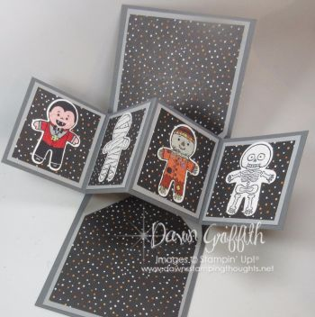 Hi Stampers, Today we will be making this amazing over the top Pop up card .  I have to share with you that when making this card I wasn't able to get the inside to line up properly and trust me I mad
