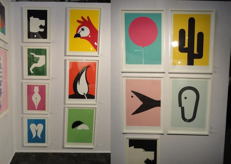 Noma Bar, Design Junction 2012