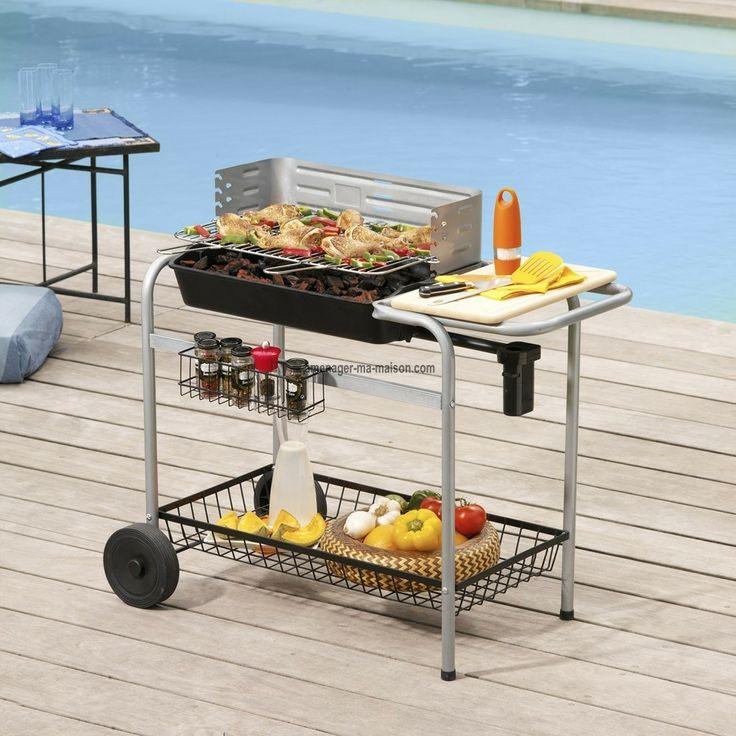 Un barbecue à charbon avec cuve en fonte, munie d'une soufflerie intégrée pour attiser le feu facilement. Prix réduit en vente privée.http://www.amenager-ma-maison.com/barbecue-charbon-de-bois-caracas-PR-133.html