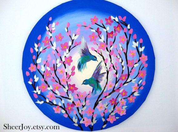 cherry blossom art cherry blossom painting cherry blossom