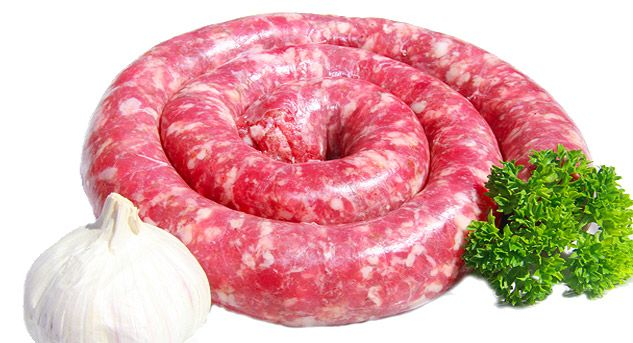 Garlic Boerewors  For garlic lovers, this sausage is made the traditional way but with a delicious garlic flavour to get your taste buds dancing. 100% real garlic.