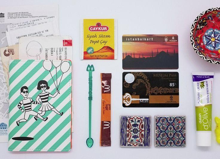 Passport Case Tabom Stripe - Made in Korea