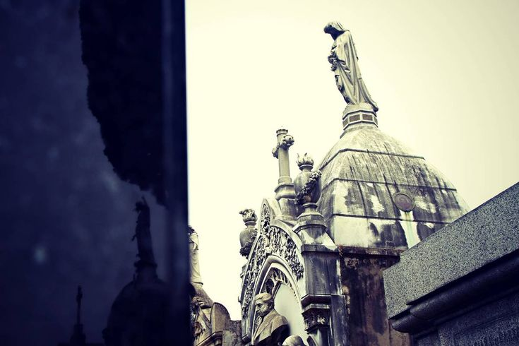 The Recoleta Cemetery in Buenos Aires, Argentina